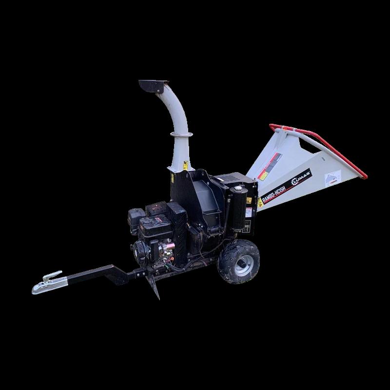 Bobcat kölcsönzés - földmunka és gépkölcsönzés | Lumag Rambo HC15 H ágdaráló